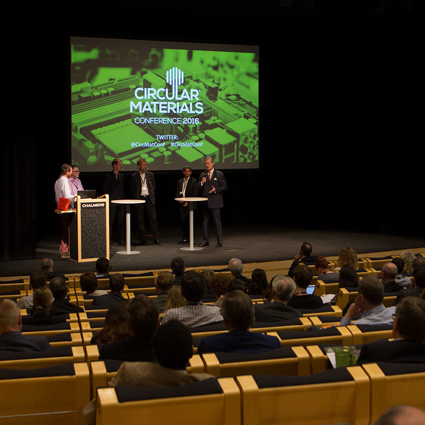 Recipo stöttar Circular Materials Conference